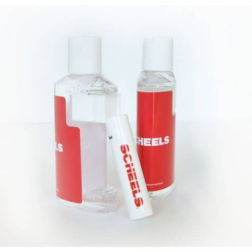 2 Oz. Duo Bottle with Clear Gel Hand Sanitizer and SPF 15 Lip Balm - Out of Stock!