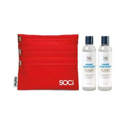Soapbox® Hand Sanitizer Duo Gift Set - Crimson