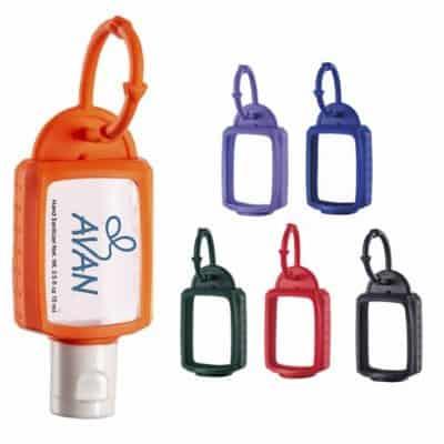 1 oz. Hand Sanitizer w/Silicone Leash