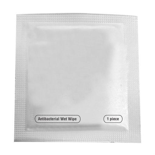 Single Use Alcohol Antibacterial Wipe