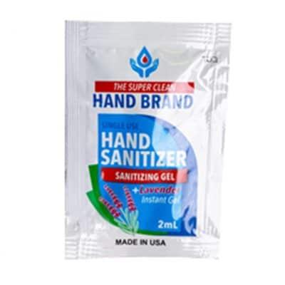 Single Use Gel Sanitizer Packs