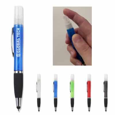 Refillable Sanitizer Stylus Pen
