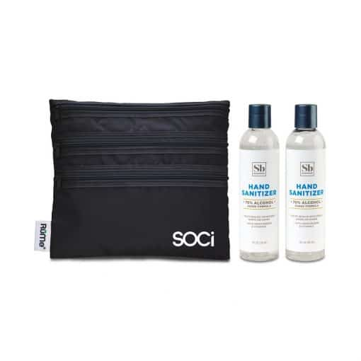 Soapbox™ Hand Sanitizer Duo Gift Set - Black
